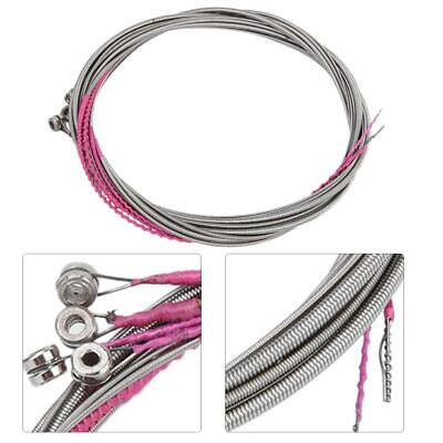 Silver Electric Bass Guitar Strings Steel 4 String Bass Musical Instrument Parts