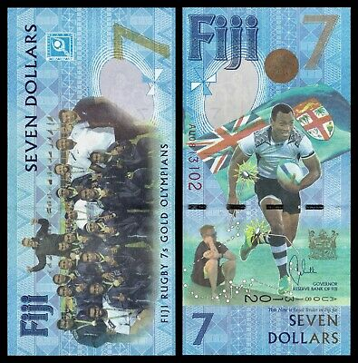 Fiyi - Fiji - 7 Dollars  ND 2017  Pick 120  SC = UNC
