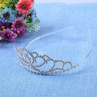 Wedding Flower Girls Kids Crystal Rhinestone Prom Party Tiara Crown Headband