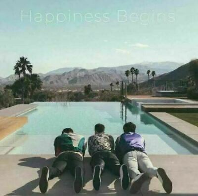 Jonas Brothers CD 2019 Happiness Begins Physical Sealed Album NEW CRACKEDCASE