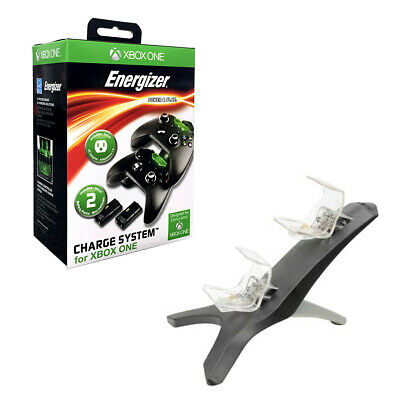 Microsoft Energizer 2x Charging System For Xbox One Flf 00223