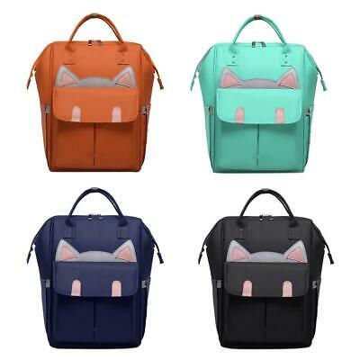 For Mommy Baby Diaper Large Capacity Mom Travel Backpack Baby Nappy Tote Ba #BU