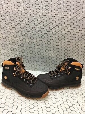 9fe486129b9 TIMBERLAND SHELL TOE Euro Hiker Boots Wheat Juniors/Mens Butters ...