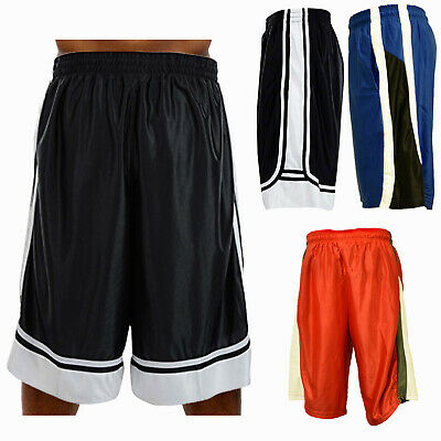 Men Sport Shorts Heavy Mesh Fast Dry Gym Running Basketball Shorts with Pockets