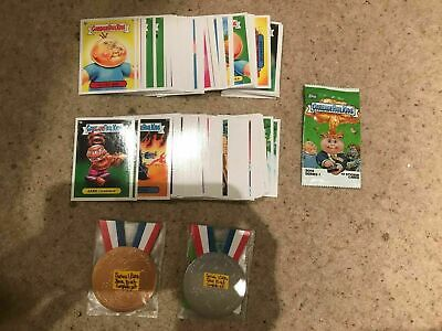 Garbage Pail Kids - Series 1 2014 - Base Set With/Without Bronze & Silver Medals