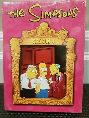 The Simpsons - Season 8 (DVD, 2006, 6-Disc Set) - Extremely Rare - OOP - Sealed