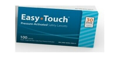 Pressure Activated Safety Lancets 30 guage 100 count box