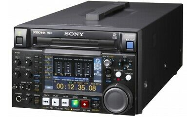 Sony PDW-HD1500 HD XDCAM Professional Disc Recorder Low Hours 3022