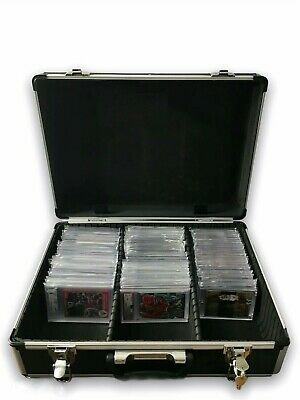 🔥 Certified Graded Cards & One 1 Touch MagHolder Storage Case Psa Bgs Mtg Lock