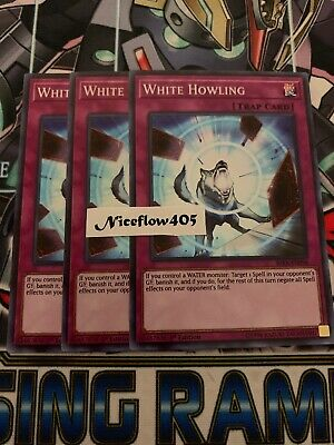 3x White Howling - RIRA-EN096 - Super Rare - 1st Edition | YuGiOh IN HAND