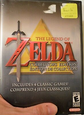 Legend of Zelda Collector's Edition (Nintendo GameCube, 2003) MIB complete