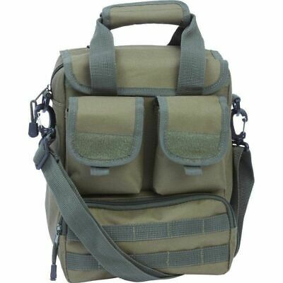 """Olive Green 15"""" UTILITY Sling DAY PACK Multiple Pockets -Military Bug Out Bag"""