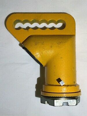 Steel Traffic Signal Light Hanger for Spanwire Mounting Yellow