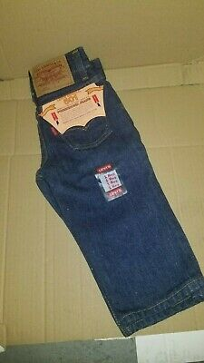 Vintage 501 Baby Levis ZIPPER Fly Size 1 Reg Toddler RARE #102-0115