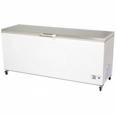 Bromic - Chest Freezer 675L Flat Top/Stainless Steel - CF0700FTSS