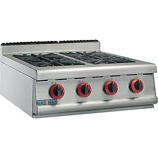 JZH-TRP-4(R) GASMAX Natural Gas Four Burner Top