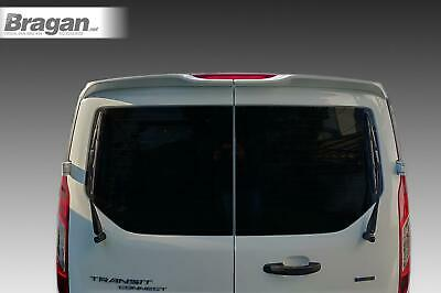 To Fit 2014+ Ford Transit Tourneo Connect Rear Roof Spoiler PU Twin Barn Door