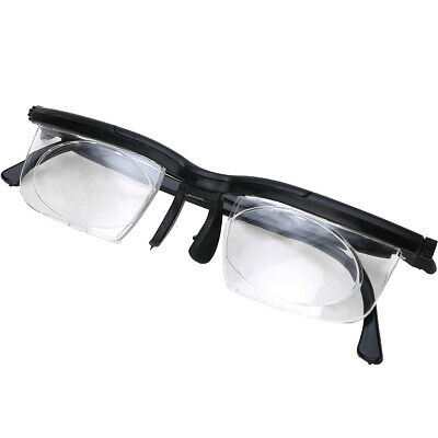 Flexible Adjustable Strength Lens Reading Glasses Variable Focus Distant Vision