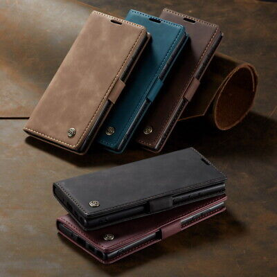 For Samsung Galaxy Note 10 Plus S10 S9 S8 Leather Wallet Card Holder Case Cover