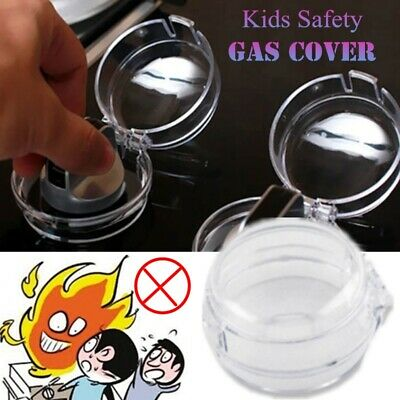Child Proof Stove Guard Safety Knobs Gas Oven Switch Protection For Kid Safe