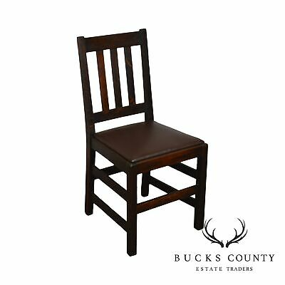 Antique Mission Oak Side Chair (B)
