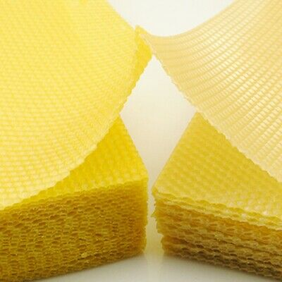 Wax Nest Making Natural Beeswax Sheets Candle  Beeswax Nest Bed Honeycomb UK