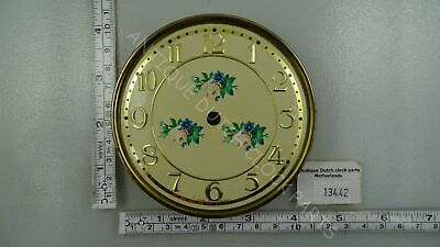 Floral Decorated Dial Haller For Anniversary Clock