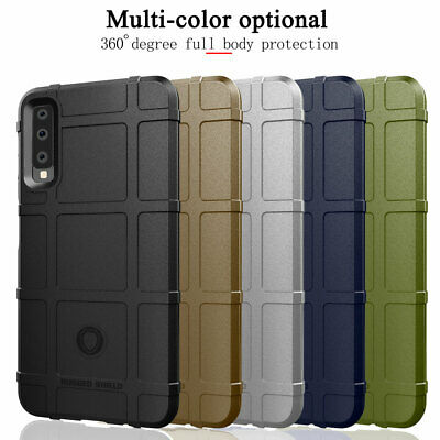 For Samsung Galaxy A50 A70 A9 A7 2018 J6 J4+ Armor Case Shockproof Rubber Cover