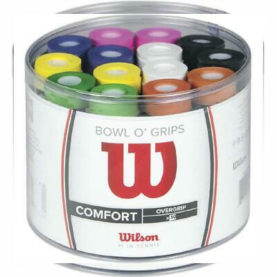 Wilson Tennis Bowl O' Grips Racket Overgrips - Multicoloured Fits Most, N/A