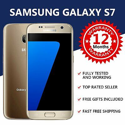 Samsung Galaxy S7 - 32GB - Gold - 4G LTE (Unlocked) Android Smartphone