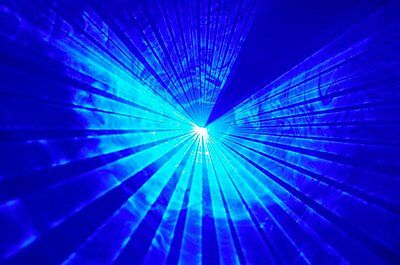 300mw - Powerful BLUE Disco Laser Light  dj nightclub pub karaoke party