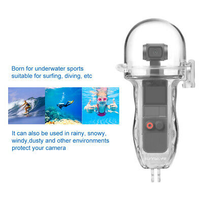 60M Waterproof Sports Camera Diving Case Box Protective for OSMO Pocket RC1078