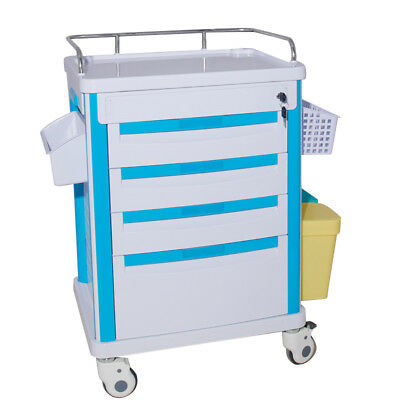 Medical Movable Operating Room Trolley Giving Medicine Rolling Trolley Hospital