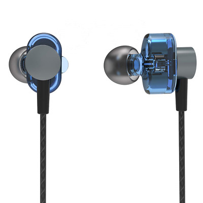 PHB in Ear Headphones Wired Earbuds, Noise Cancelling with Microphone,Ergonomic