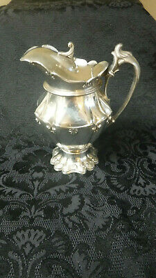 Antique Silverplate Syrup Pitcher Simpson Hall & Miller Good condition