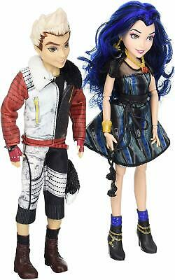 Disney Descendants Two-Pack Evie Isle of the Lost and Carlos Isle of Lost Dolls