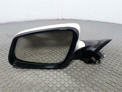 2013 BMW 6 Series Gran Coupe F06 WHITE N/S Passenger Electric Door Wing Mirror