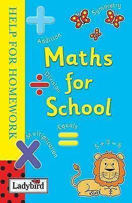 Help for Homework: Maths for School, Ladybird , Acceptable | Fast Delivery