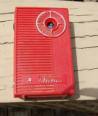 Vintage Airline (Montgomery Ward) 6 Transistor Radio From The Mid 60's