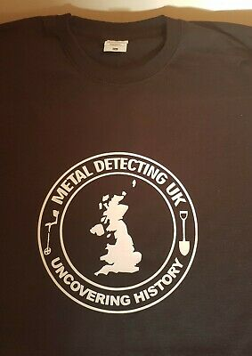 METAL DETECTING T SHIRT-FRUIT OF THE LOOM------underground detective