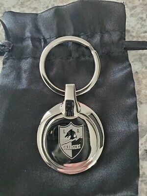 2019 Los Angeles Chargers Keychain Season Ticket Member Holder STH NFL Key Chain