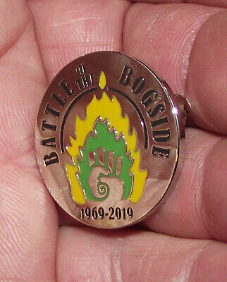 Irish Republican Battle Of The Bogside Anniversary Badge Pin Free Derry Defence