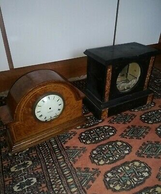Two Antique Clock Cases* One French Example