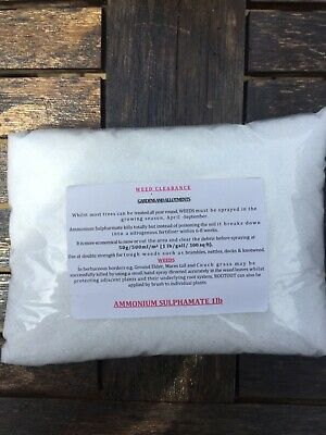 root out Ammonium Sulphamate Sulfamate Crystals 1kg Stump Compost