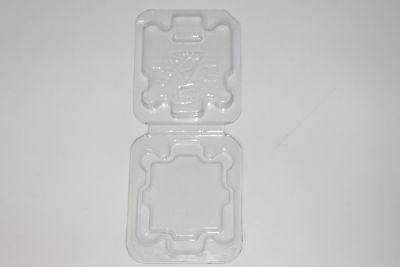 51x CPU Clamshell Tray Case Plastic Protection Box For Intel 478 775 1150 1156