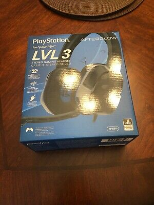 PDP Afterglow LVL 3 Wired Headset for Playstation 4, PS4™