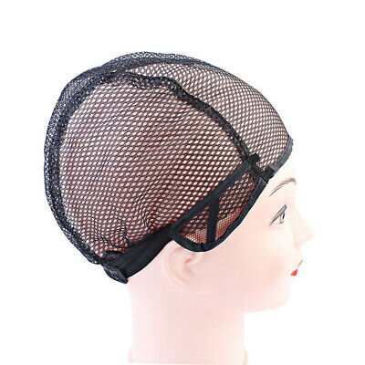 5pcs Net Wig Caps Weaving Adjustable Stretch Durable Wig Net Cap for Wigs Hair
