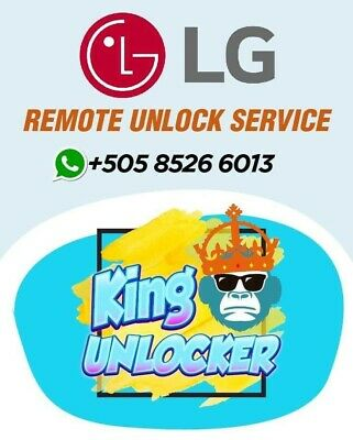 Remote Unlock Service LG X Charge SP320 Sprint Boost Virgin