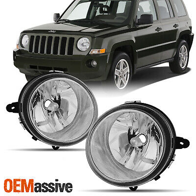 For Jeep 07 - 17 Patriot 07-10 Compass OE Style Headlights Housing Assembly