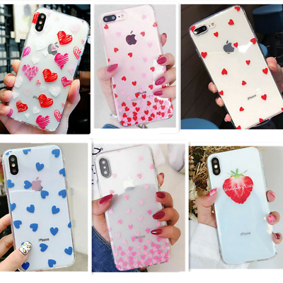 Shockproof Transparent Silicone Case Cover For iPhone 11 Pro Max  XS XR X 8 Plus